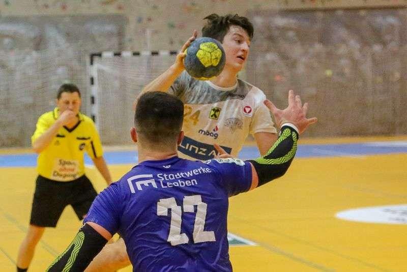 Linzer Handballer schaffen Klassenerhalt in Verlängerung - Bild 47