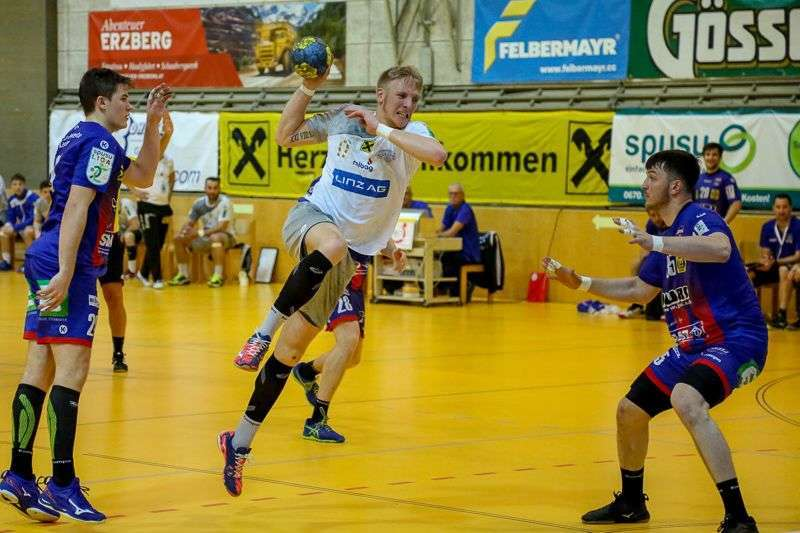 Linzer Handballer schaffen Klassenerhalt in Verlängerung - Bild 49