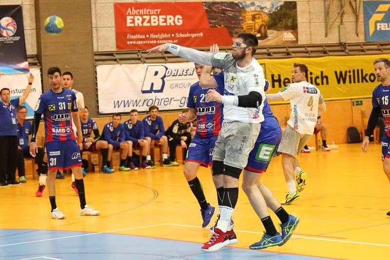 Linzer Handballer schaffen Klassenerhalt in Verlängerung - Bild 53
