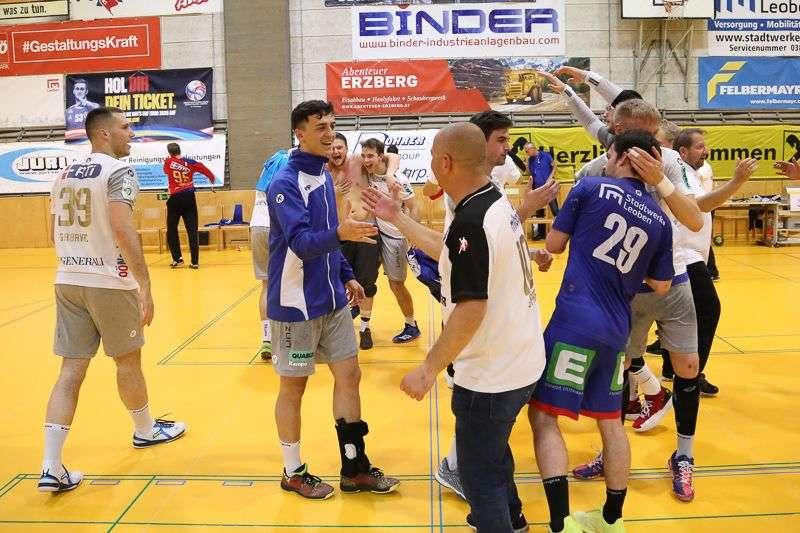Linzer Handballer schaffen Klassenerhalt in Verlängerung - Bild 55