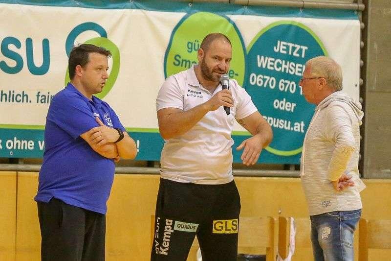 Linzer Handballer schaffen Klassenerhalt in Verlängerung - Bild 58