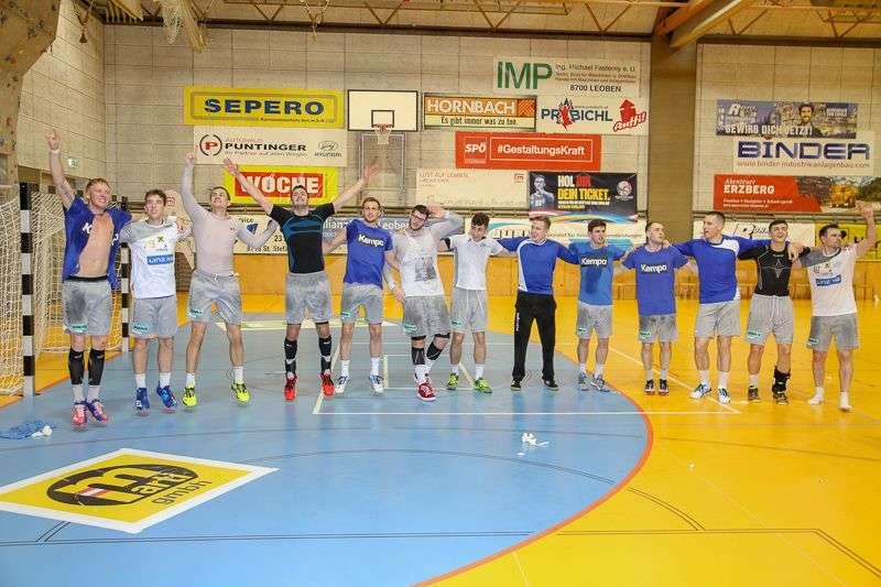 Linzer Handballer schaffen Klassenerhalt in Verlängerung - Bild 59