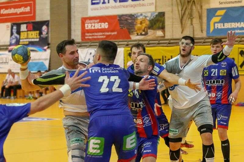 Linzer Handballer schaffen Klassenerhalt in Verlängerung - Bild 63
