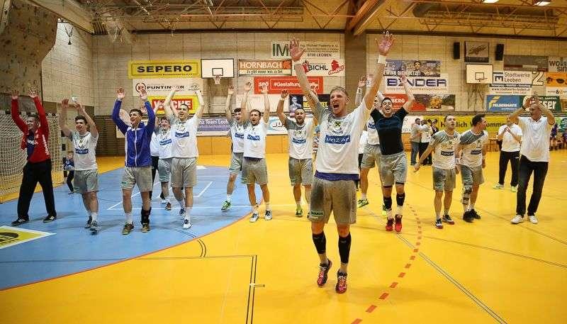 Linzer Handballer schaffen Klassenerhalt in Verlängerung - Bild 69