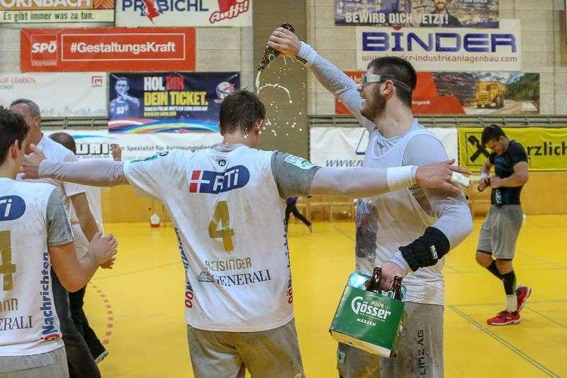 Linzer Handballer schaffen Klassenerhalt in Verlängerung - Bild 71