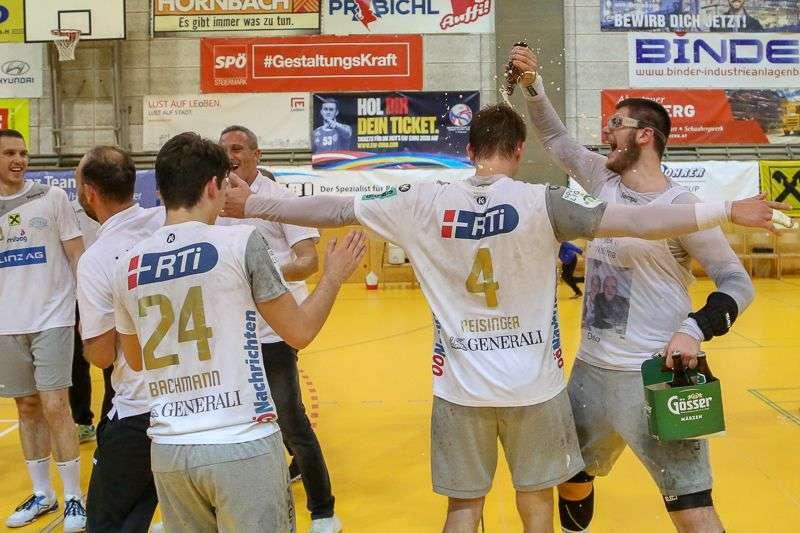 Linzer Handballer schaffen Klassenerhalt in Verlängerung - Bild 86