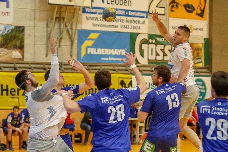Linzer Handballer schaffen Klassenerhalt in Verlängerung - Bild 87