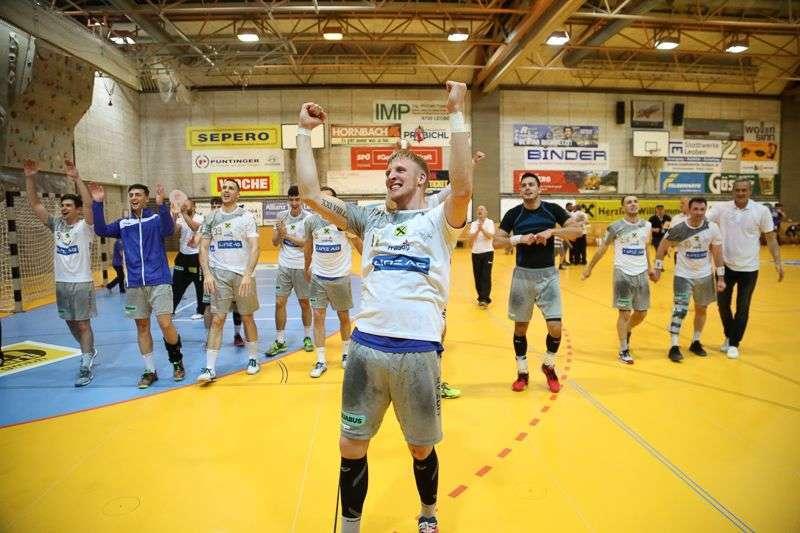 Linzer Handballer schaffen Klassenerhalt in Verlängerung - Bild 90