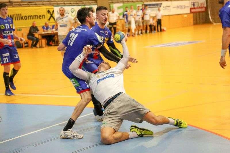 Linzer Handballer schaffen Klassenerhalt in Verlängerung - Bild 91