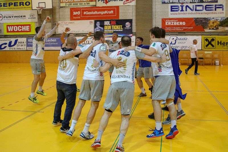Linzer Handballer schaffen Klassenerhalt in Verlängerung - Bild 97