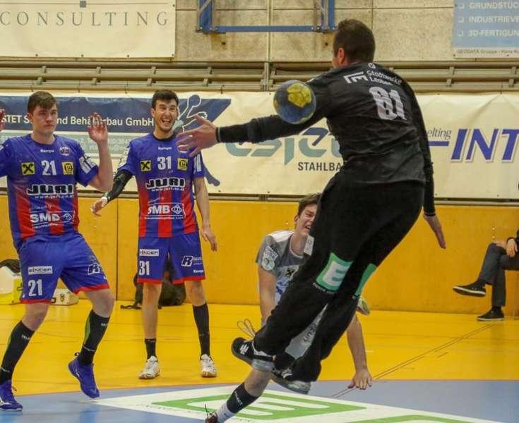 Linzer Handballer schaffen Klassenerhalt in Verlängerung - Bild 99