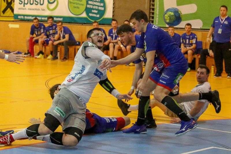 Linzer Handballer schaffen Klassenerhalt in Verlängerung - Bild 100
