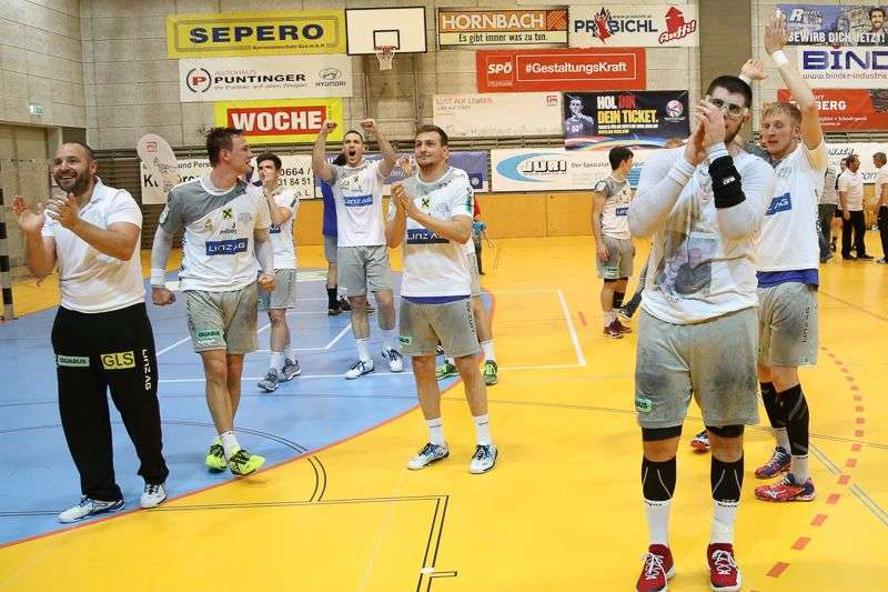 Linzer Handballer schaffen Klassenerhalt in Verlängerung - Bild 105