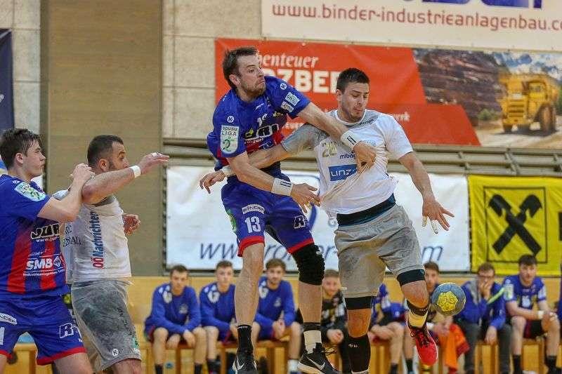 Linzer Handballer schaffen Klassenerhalt in Verlängerung - Bild 119