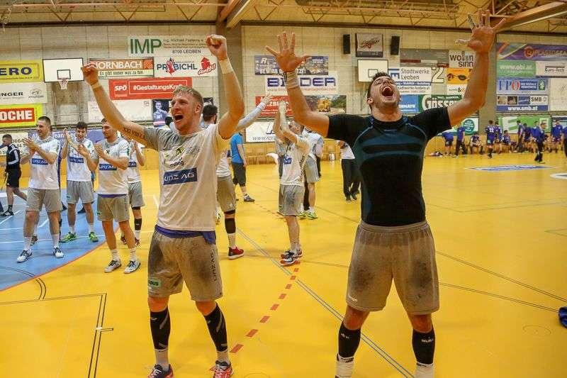 Linzer Handballer schaffen Klassenerhalt in Verlängerung - Bild 121