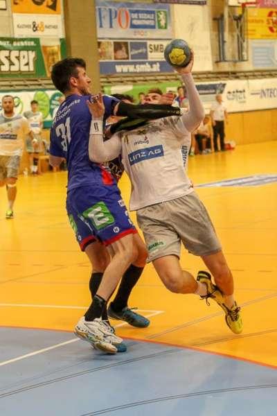 Linzer Handballer schaffen Klassenerhalt in Verlängerung - Bild 128