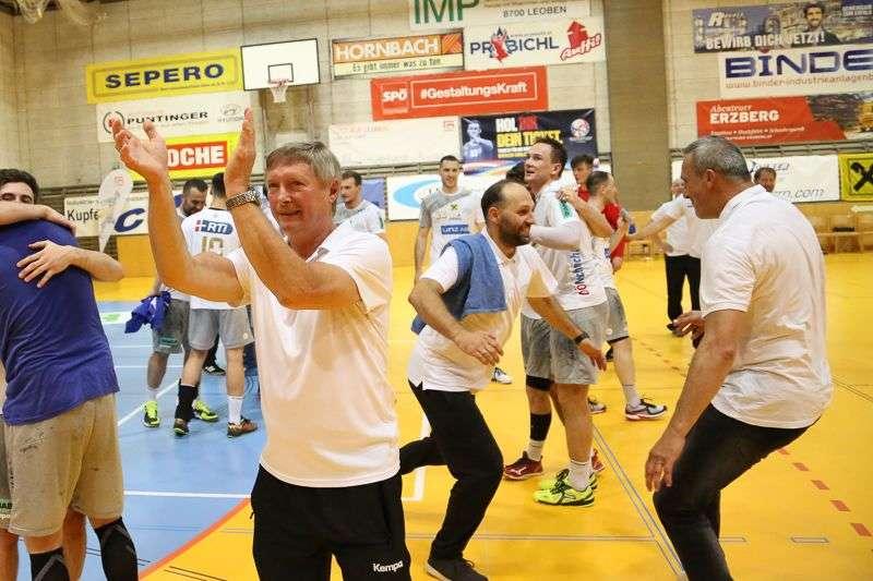 Linzer Handballer schaffen Klassenerhalt in Verlängerung - Bild 129