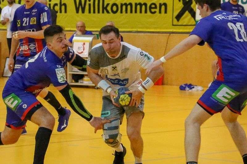 Linzer Handballer schaffen Klassenerhalt in Verlängerung - Bild 131