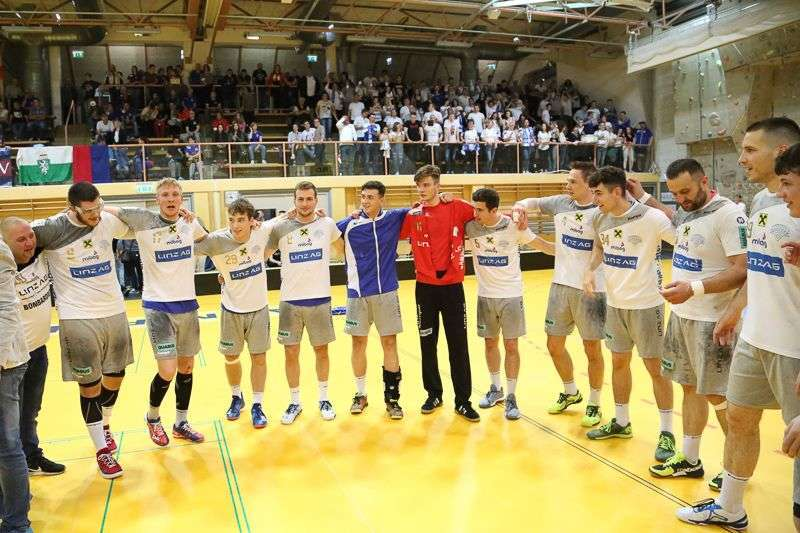 Linzer Handballer schaffen Klassenerhalt in Verlängerung - Bild 132