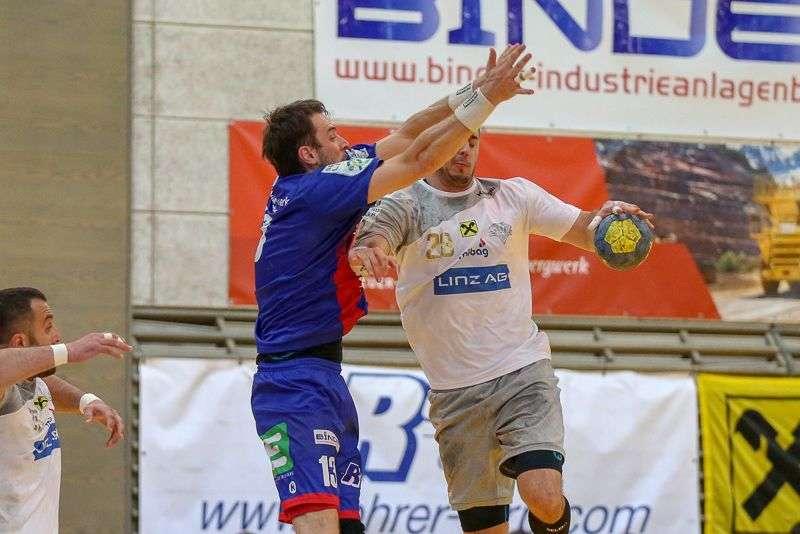 Linzer Handballer schaffen Klassenerhalt in Verlängerung - Bild 135