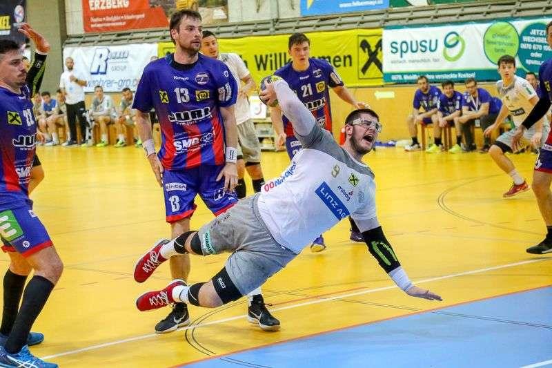 Linzer Handballer schaffen Klassenerhalt in Verlängerung - Bild 141