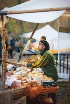 Markttag auf der Burgruine Aggstein