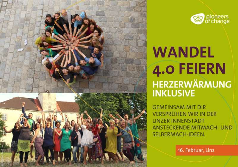 "WANDEL 4.0 feiern ""HerzErwärmung inklusive""  - Bild 1"