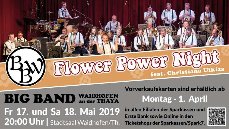 Flower Power Night - Big Band Waidhofen feat. Christiana Uikiza - Bild 1551545829