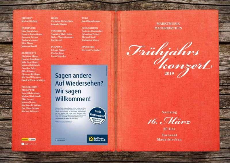 Frühjahrskonzert Marktmusik Mauerkirchen - Bild 2