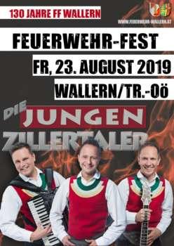 Feuerwehr-Zeltfest - Die Jungen Zillertaler
