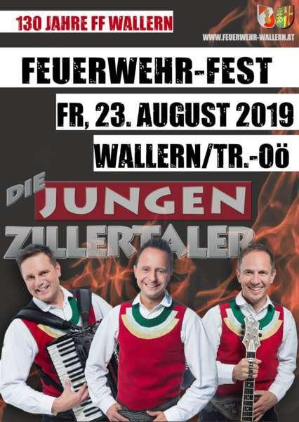 Feuerwehr-Zeltfest - Die Jungen Zillertaler - Bild 1