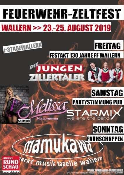 Feuerwehr-Zeltfest - Die Jungen Zillertaler - Bild 2