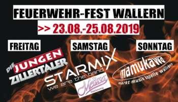 Feuerwehr-Zeltfest Wallern - Starmix u. Melissa Naschenweng
