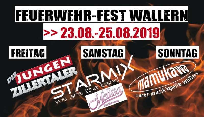 Feuerwehr-Zeltfest Wallern - Starmix u. Melissa Naschenweng - Bild 1