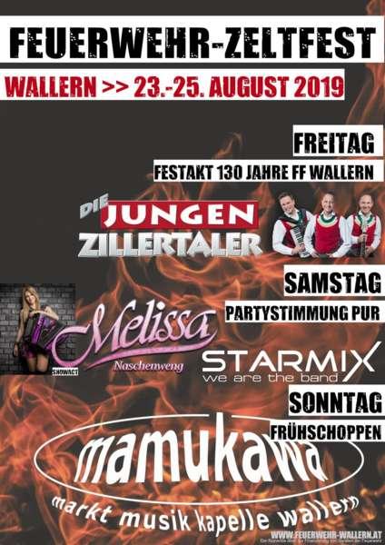 Feuerwehr-Zeltfest Wallern - Starmix u. Melissa Naschenweng - Bild 2