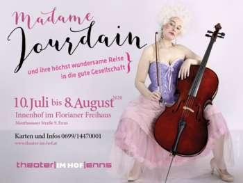 VERSCHOBEN AUF 2021 Madame Jourdain und ihre höchst wundersame Reise in die gute Gesellschaft