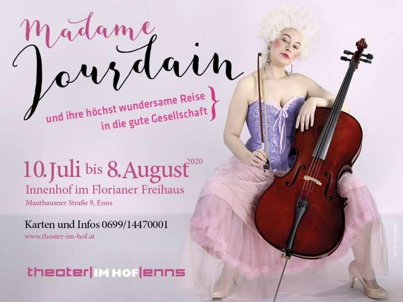 VERSCHOBEN AUF 2021 Madame Jourdain und ihre höchst wundersame Reise in die gute Gesellschaft - Bild 1