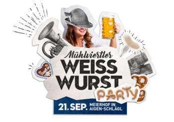 Weißwurst-Party im Meierhof