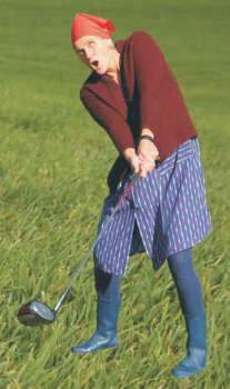 """""""Auguste spielt Golf"""" Fränkisches Golfkabarett vom Feinsten"""