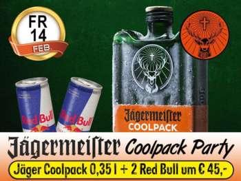 Jägermeister Coolpack Party in der Mausefalle