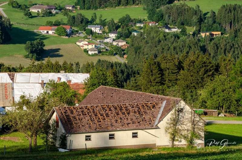 Hagelschäden in Reichenau und Haibach - Bild 3