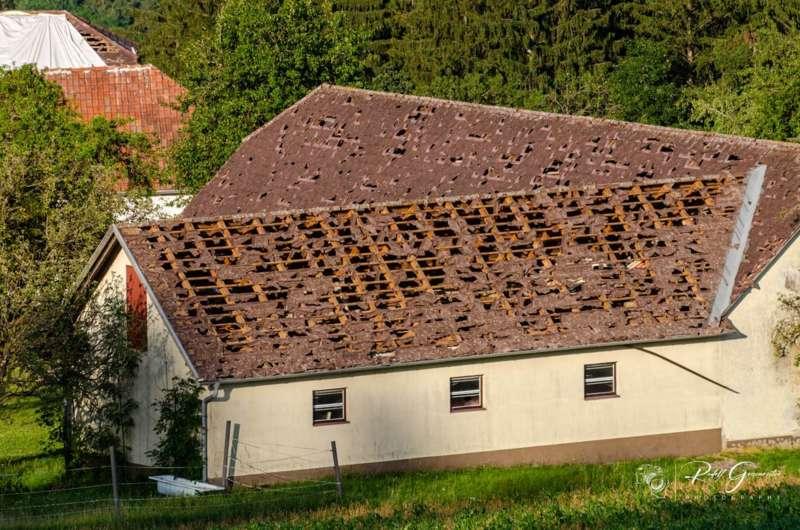 Hagelschäden in Reichenau und Haibach - Bild 4