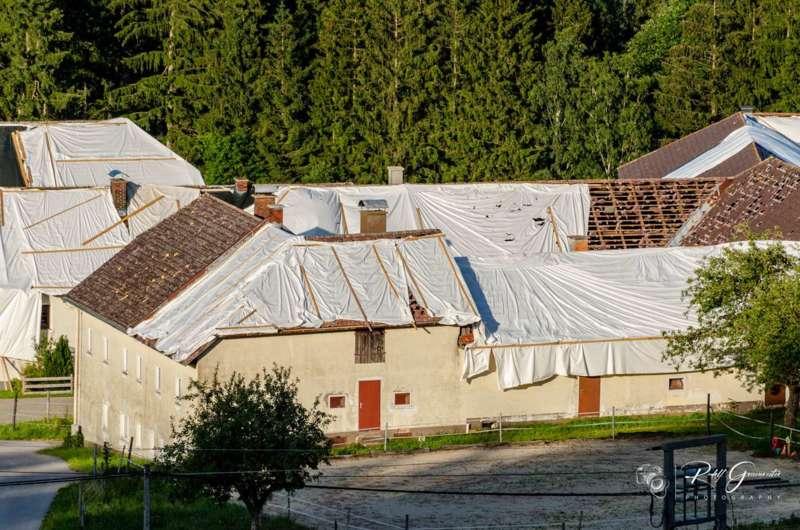 Hagelschäden in Reichenau und Haibach - Bild 5