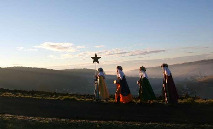 Caspar, Melchior und Balthasar bringen Segen für das neue Jahr