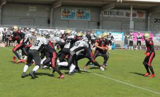 American Football: Gladiators Ried vs Huskies Wels 30:19