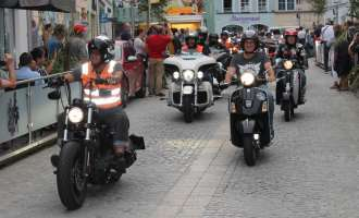 Harley Davidson Charity Tour 2019 in Ried (Teil 1)