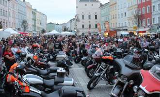 Harley Davidson Charity Tour 2019 in Ried (Teil 2)