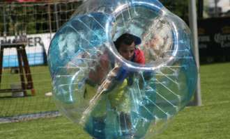 1. Bubble Soccer Turnier in Lembach