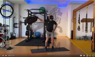 Full Body Backpacker Workout: Personaltrainer Tom Netzmann zeigt's vor