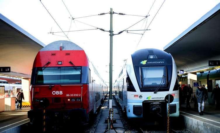 Noch keine Lösung bei der Westbahn-Strecke - Kundgebung Keine Lok down im Lockdown!
